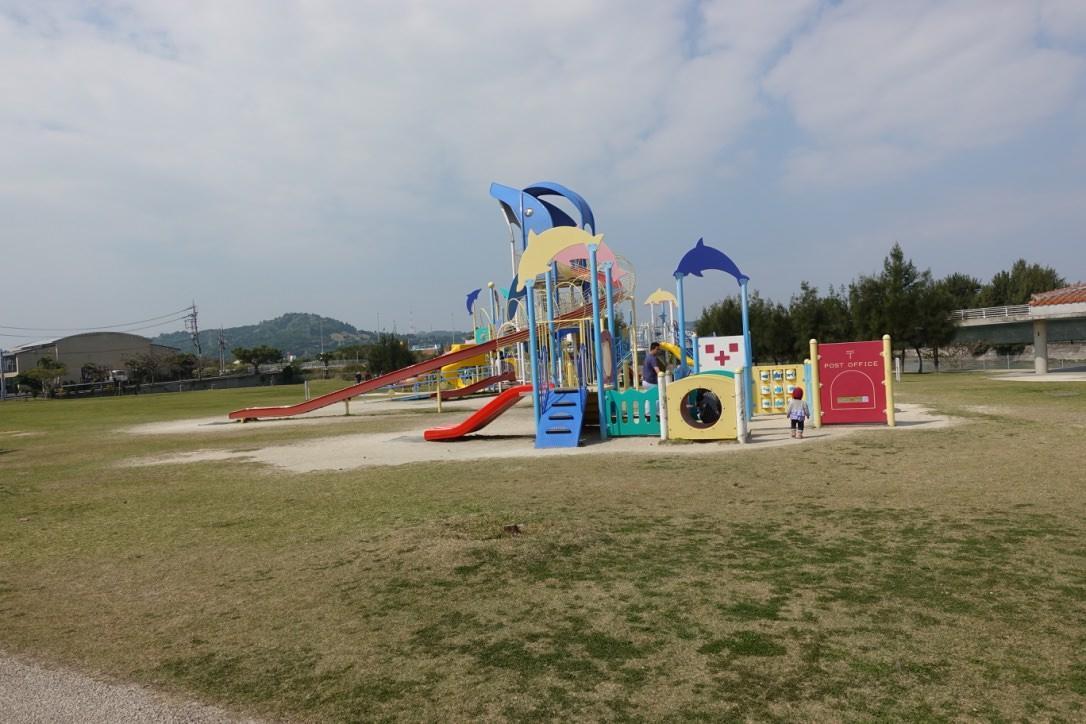 『2017沖繩』沒有太多觀光客的私房公園景點-東崎公園Nishihara Marine Park