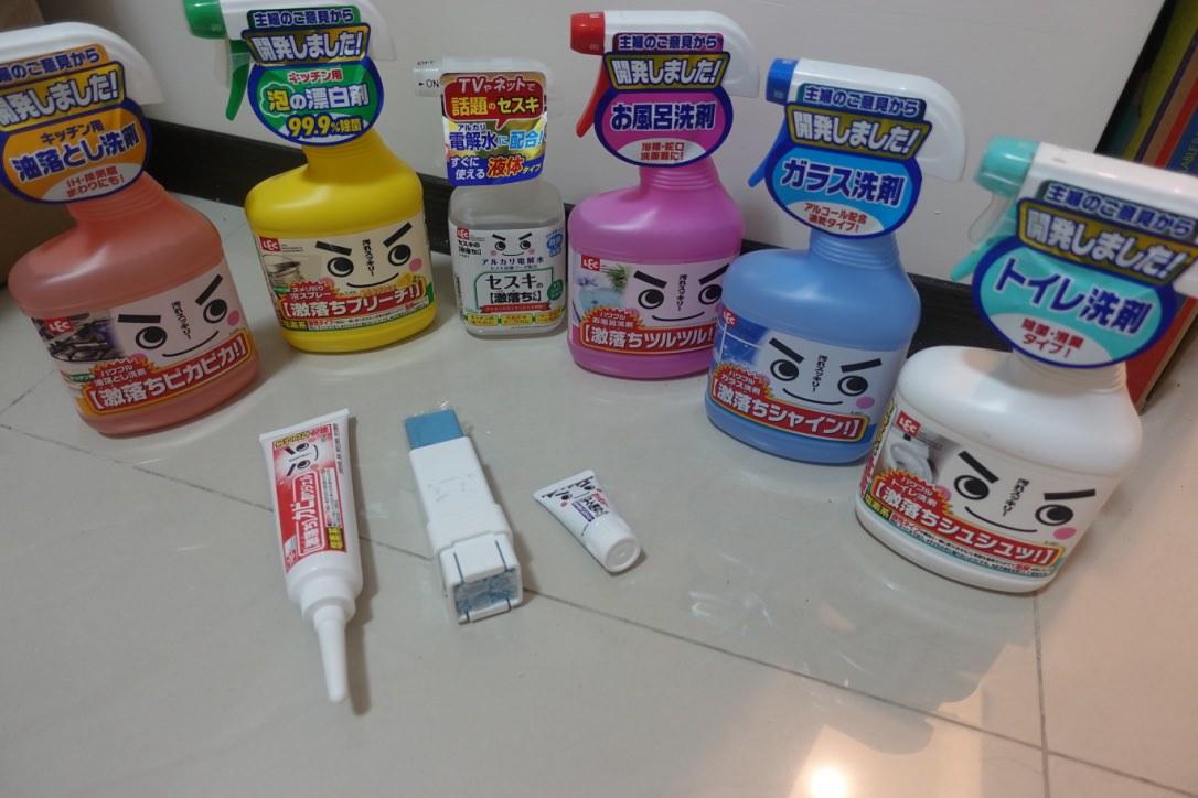 『清潔團』去除頑垢、居家清潔的好幫手-LEC清潔劑好用團