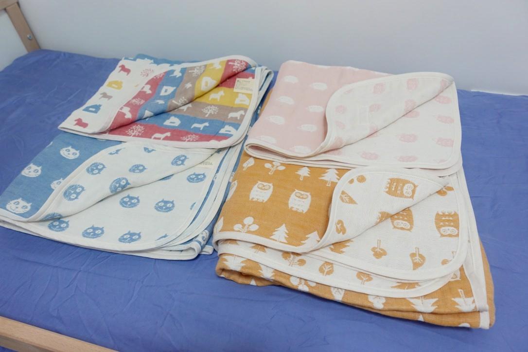 『新色團』深受好評來自日本會呼吸的yimono六層紗被