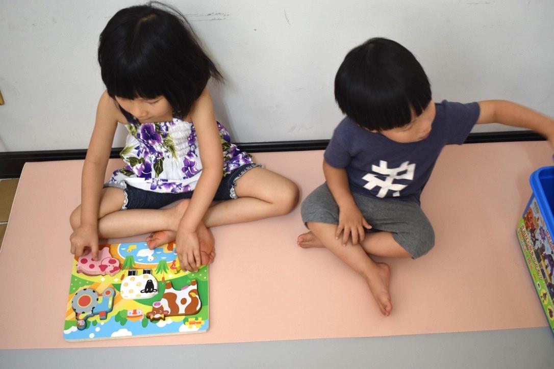 引導孩子的拼圖路,簡單拼圖也可以很好玩