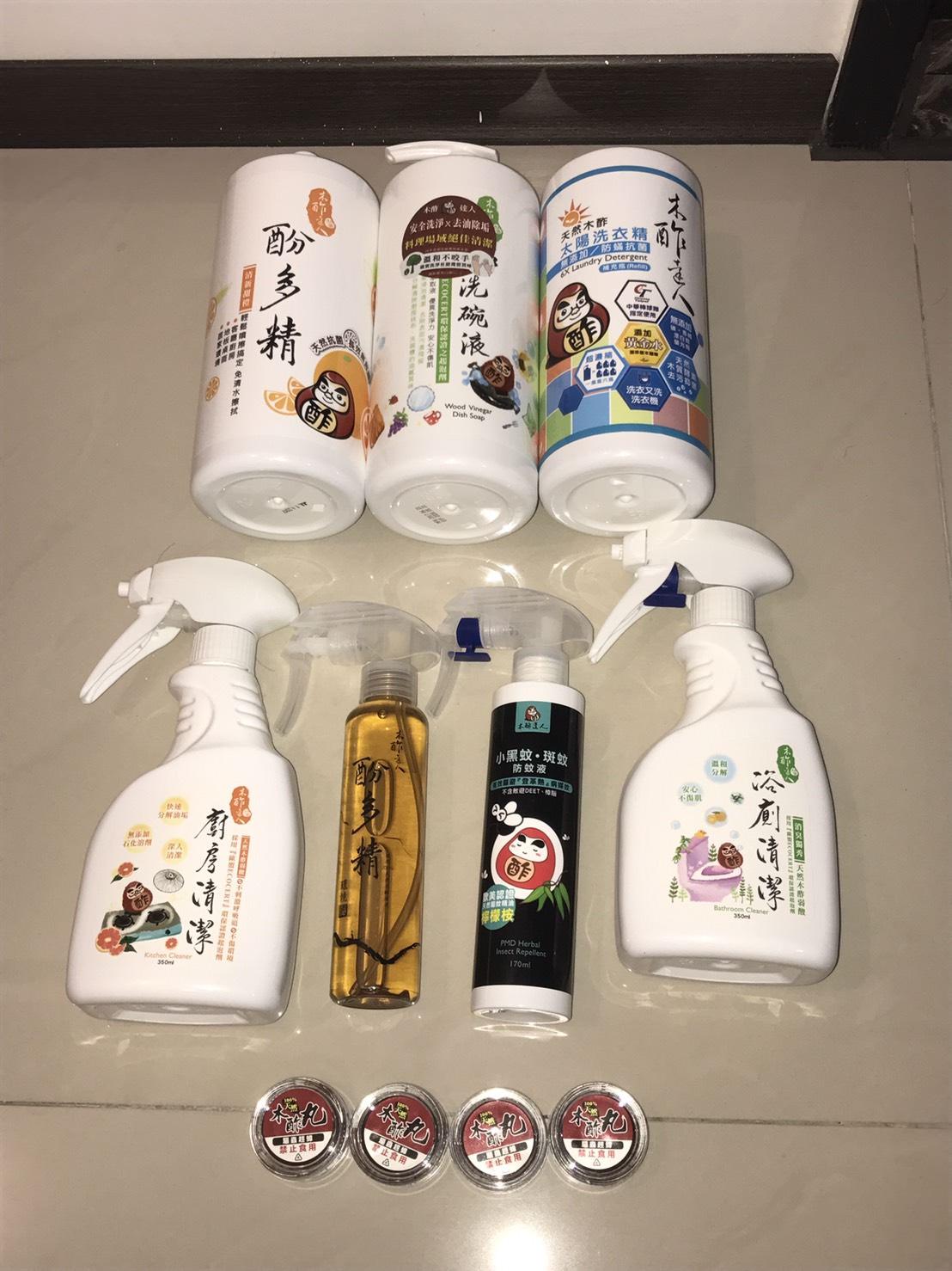 『居家團』無法錯過的環保天然級的清潔系列-木酢達人系列