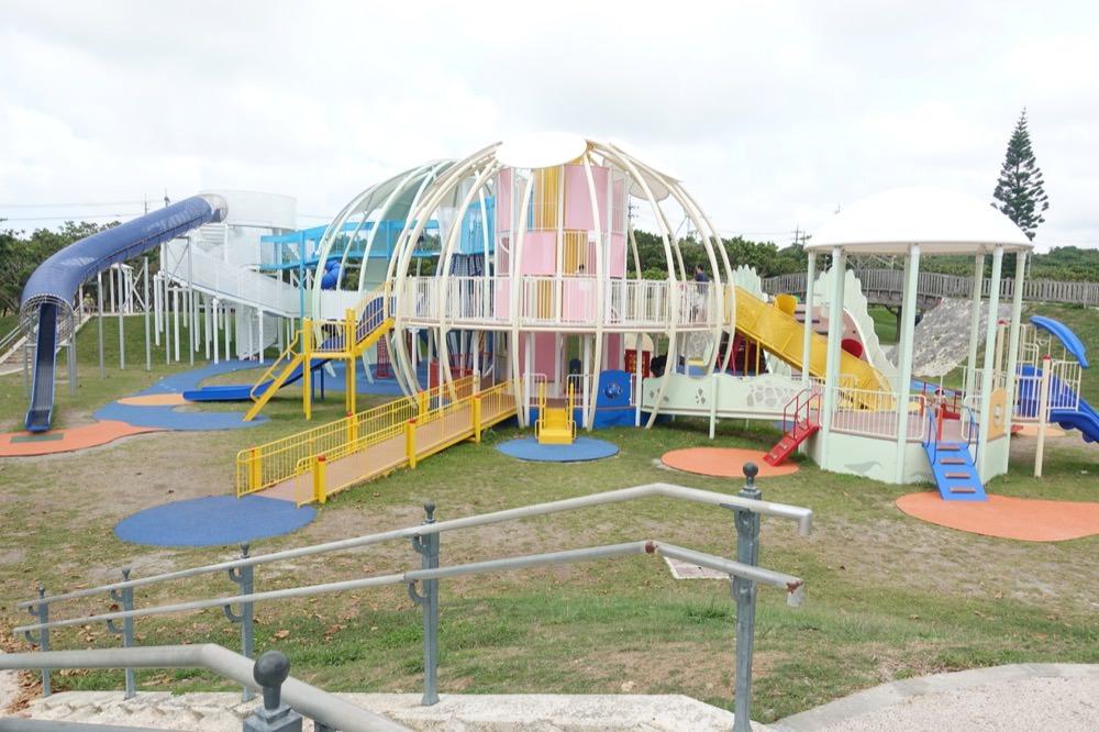 沖繩2017新的親子點-佔地廣大,遊具豐富,親子遊必衝-平和祈念公園