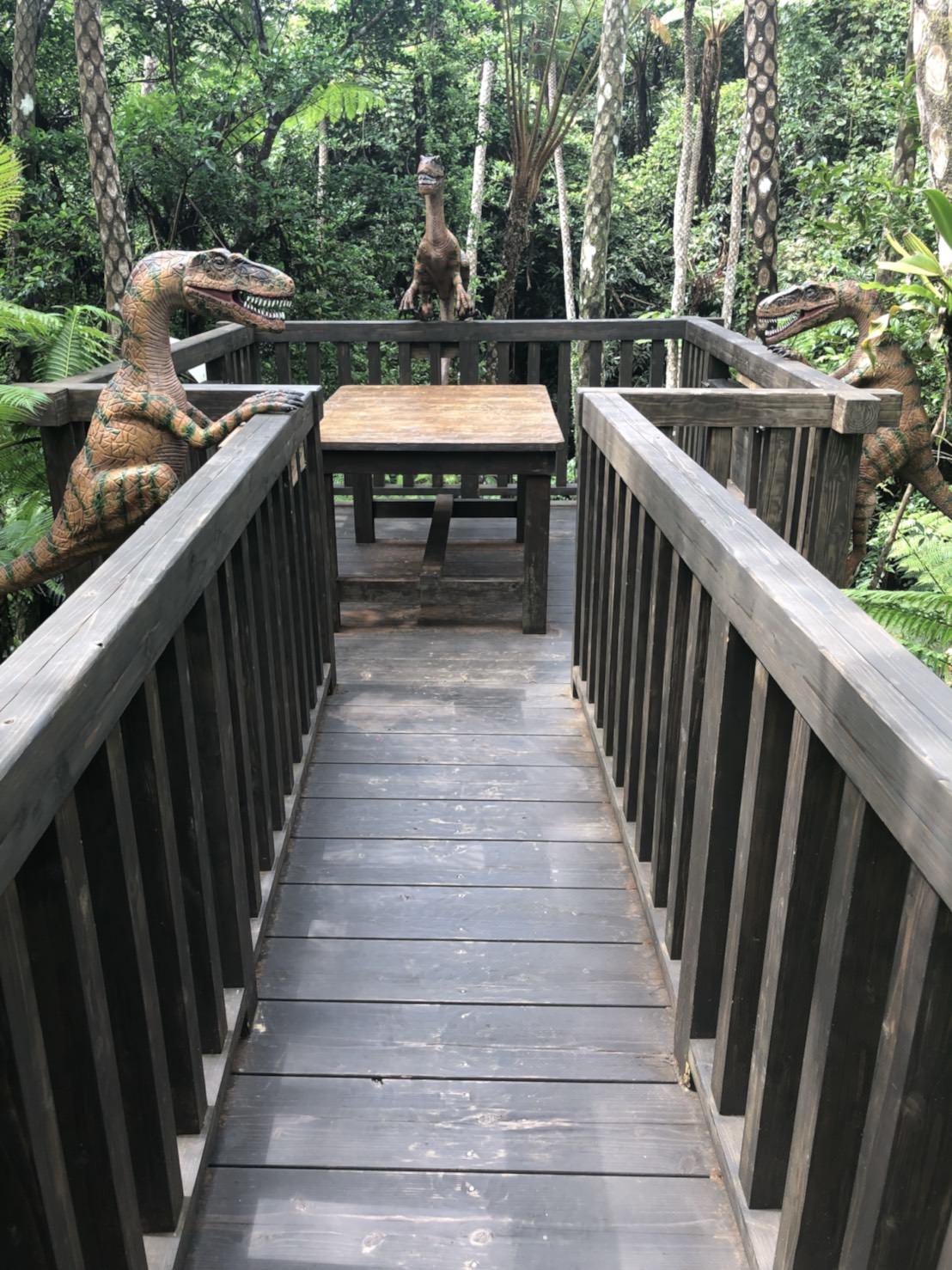 『沖繩』恐龍迷必訪,來到山原亞熱帶之森,小心恐龍出沒-DINO恐龍公園
