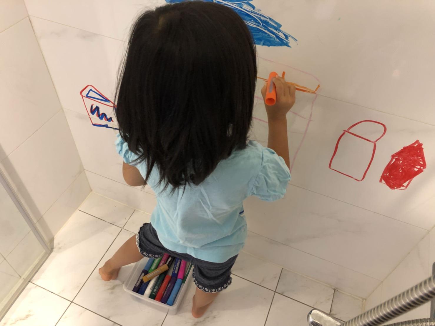走到哪都可以是我的畫布-一筆多畫英國Little Brian可洗無毒兒童專用水彩棒(可水洗、可混色、可點點、可水彩)
