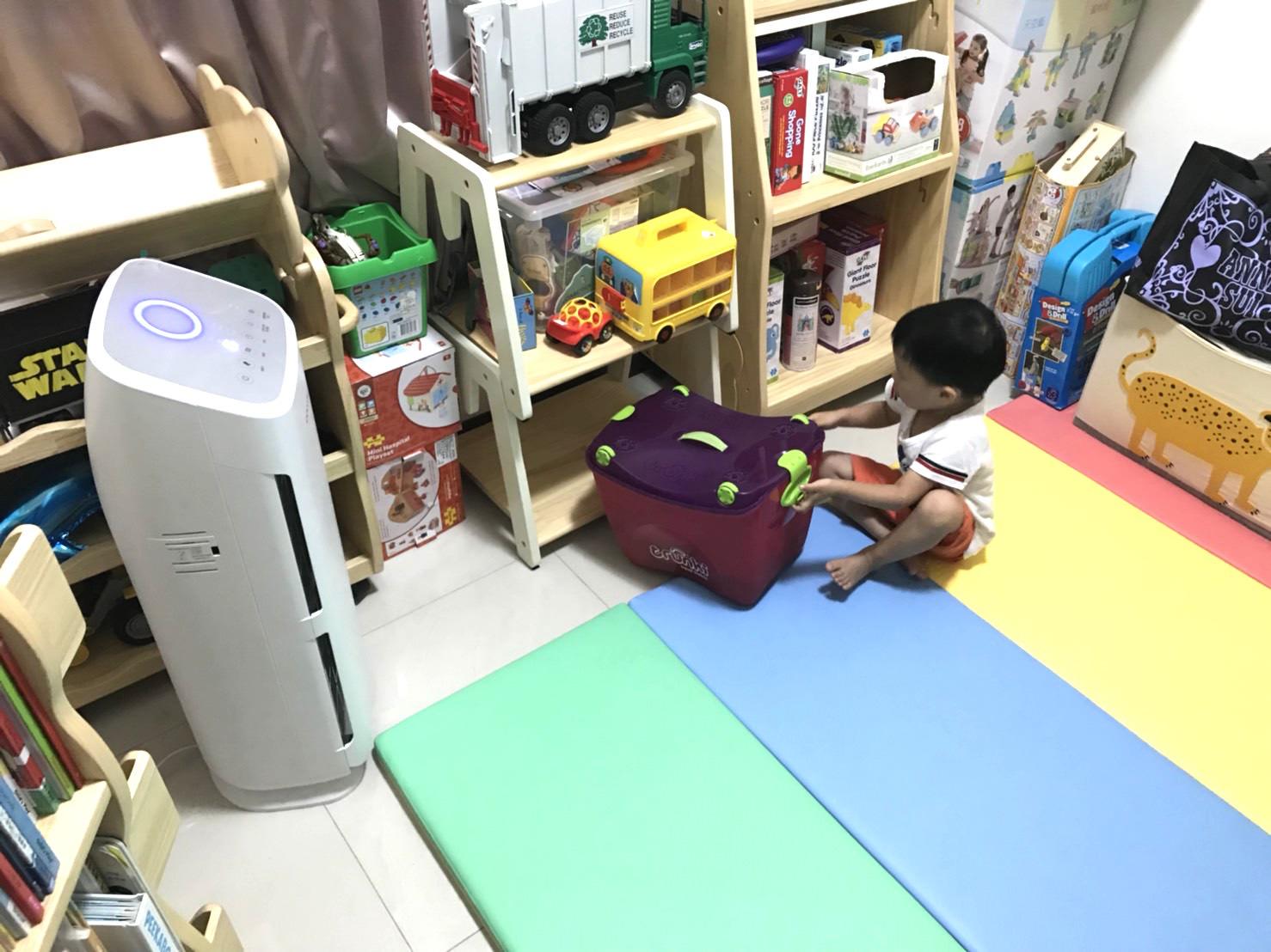 『育兒必備』家有過敏兒必備,來自韓國的空氣清淨機-coway