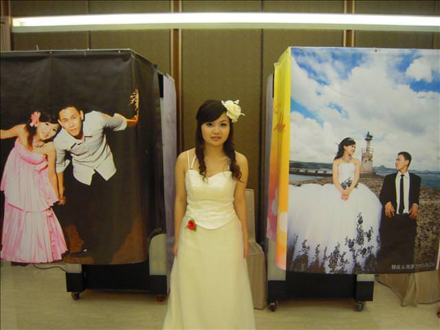 *523『大喜』婚禮大頭貼*