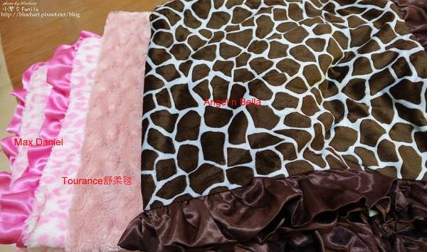 『育兒比較』毯子控的毯子分享心得比較-Max Daniel、Tourance舒柔毯、Angel n Bella大評比