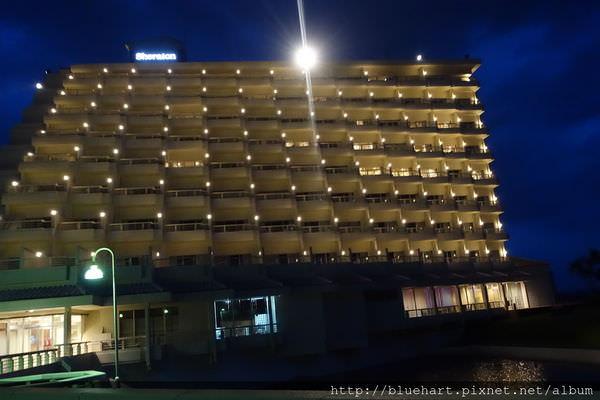 『2016沖繩親子』沖繩自由行必走的海邊渡假行程-好棒的view&好棒的海灘-Sun Marina Hotel 太陽碼頭酒店