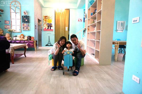 『宜蘭』充滿Tiffany藍的夢幻小屋-小熊民宿之粉藍屋