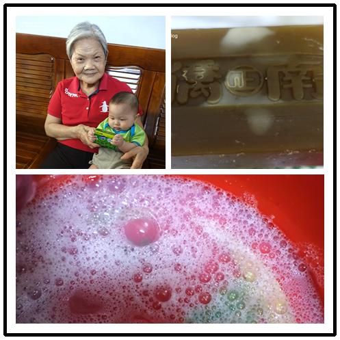 阿嘛傳承的洗衣選擇-好ㄊㄨㄚˋ好洗好省水的南僑水晶肥皂系列