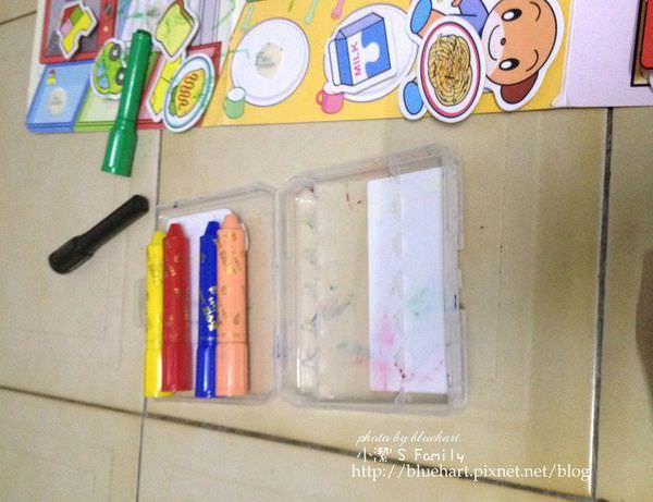 让孩子画习画画可以画得轻松自在无负担的最佳选择-amos无毒水性蜡笔