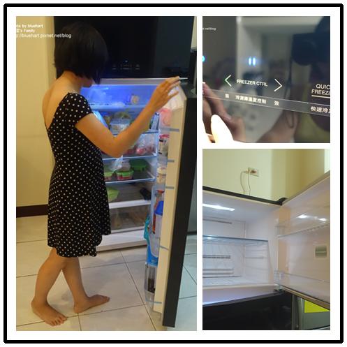 『開箱文』媽媽都該有的居家時尚美-Toshiba東芝變頻冰箱