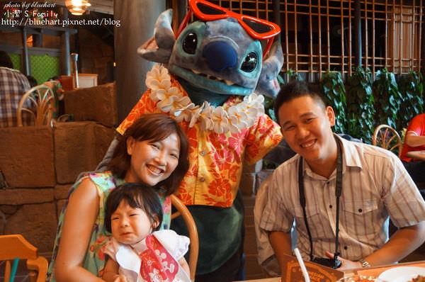 ♬『東京親子』去迪士尼必看的餐廳SHOW-波里尼西亞草壇餐廳♬